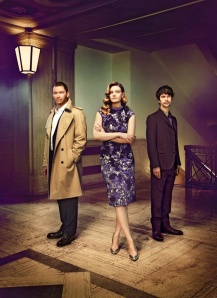 Dominic West, Romola Gari, Ben Whishaw